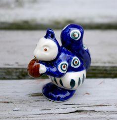 Polish stoneware - Squirrel