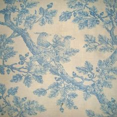 Detail of an 18th century English toile