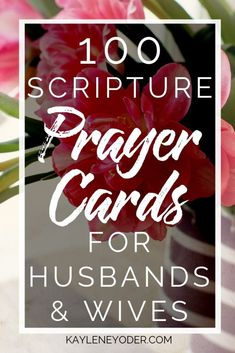 Grow in faith together by using these Scripture prayer cards! May these prayer cards for couples help you pray war room prayers for your spouse and trust the Lord for your future.    Kaylene Yoder #pray #scripture #scriptureprayers #kayleneyoder Couples Prayer, Marriage Prayer, Biblical Marriage, Daily Scripture, Scripture Cards, Prayer Cards, Prayer For Husband, Husband Quotes, Prayer Scriptures