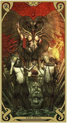 The Devil - Night Sun Tarot