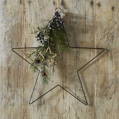 Buy Nordic Star Decoration - from The White Company Decoration Christmas, Noel Christmas, Scandinavian Christmas, Simple Christmas, Christmas Wreaths, Christmas Crafts, The White Company, On The High Street, Main Street