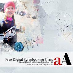 Free Digital Scrapbooking Class #digitalscrapbooking #scrapbooking #photosharing…