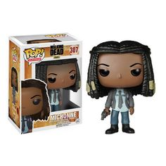 Funko Pop The Walking Dead Michonne. Comprar figuras pop de The Walking Dead online, Michonne. Tienda online de figuras funko pop de The Walking Dead Funko Pop Walking Dead, Walking Dead Pop, Walking Dead Series, Walking Dead Season, Pop Vinyl Figures, Funko Pop Figures, Rick Grimes, The Walking Dead Alexandria, Scream