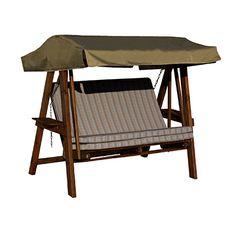 Puutarhakeinun perinteinen istuma-asento