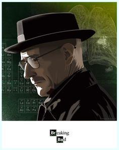 Breaking Bad animado e ilustrado | ceslava | diseño