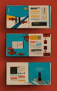 Graphic Design Books, Graphic Design Layouts, Book Design Layout, Graphic Design Inspiration, Magazine Design Inspiration, Ad Layout, Book Layouts, Mise En Page Portfolio, Portfolio Design