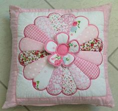 "Dresden ""Sweet as Sugar"" cushion and quilt  block 4x4 5x5 6x10 and 7x12 in the hoop machine embroidery design"