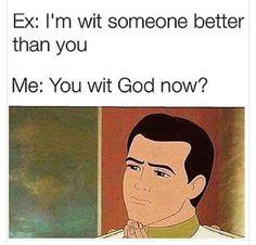 Divorce ex joke sex tasteless truly