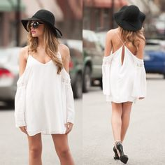 White boho chic #swoonboutique