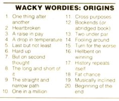 Wackie Wordies #67 Rebus Puzzles, Logic Puzzles, Word Puzzles, Brain Teasers With Answers, Brain Teasers For Kids, Thinking Skills, Critical Thinking, Activity Games, Fun Activities