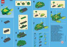 LEGO Turtle, Mini-Build for March 2013 (Source: lego.com)