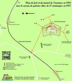Fort de Tavannes - Verdun 1916 - Grande Guerre
