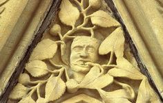 southwell minster chapter house green men - Google Search