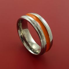 Hey, I found this really awesome Etsy listing at https://www.etsy.com/listing/165722145/titanium-band-custom-color-design-ring