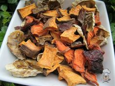 (wheat, grain, gluten and dairy-free) liver & sweet potato trail mix dog treat recipe dehydrated veggies, fruits, n chicken livers