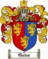 Gates Coat of Arms / Gates Family Crest