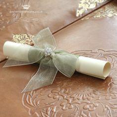 lottery ticket holder wedding favour www.bohemiandreams.co.uk