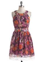 Wing It On Dress in Floral | Mod Retro Vintage Dresses | ModCloth.com