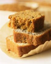 bread machine banana bread. use three bananas, replace butter with equal amount of oil and rum, add cinnamon. quick cycle of bread machine.
