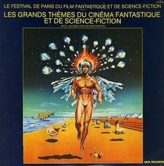 1964 Dick Jacobs And His Orchestra - Les Grands Thèmes Du Cinéma Fantastique Et De Science-Fiction [MCA (FR)] artwork: Wojtek Siudmak #albumcover