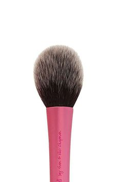It pays to invest in a blush brush, because once you find the right one, it does it all. This domed bristle brush picks up and deposits blush to define, contour, and shade your cheeks. Simply apply the brush in a circular motion to the apples of your cheeks. Real Techniques Blush Brush, $9;ulta.com