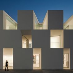 Nursing home in Alcacer do Sal Portugal.    By Portuguese studio Aires Mateus Arquitectos.