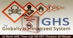 OSHA has made a significant revision to the HazCom Standard with the new Globally Harmonized Standard (GHS) with a new Safety Data Sheet (SDS) format. This webinar will give participants a comprehensive overview of the new OSHA GHS requirements. Data Sheets, Health And Safety, Learning, News, Studying, Teaching