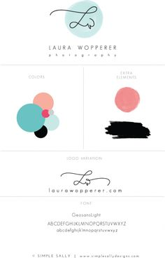Laura Wopperer Photography | Custom logo by Simple Sally | www.simplesallydesigns.com | #logo #simplesally #laurawopperer