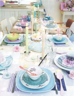Fun to mix and match for Easter table