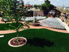 wedding ceremony at Bravo Farms in Kettleman City, CA