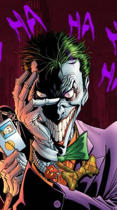 Joker face Ringtones and Wallpapers - Free by ZEDGE™ Comic Del Joker, Le Joker Batman, Der Joker, Joker Art, Joker And Harley Quinn, Joker Comic Book, Joker Arkham, Heath Ledger Joker, Comic Book Characters