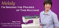 Baby Lock Melody sewing machine--AWESOME MACHINE! I HAVEIT!