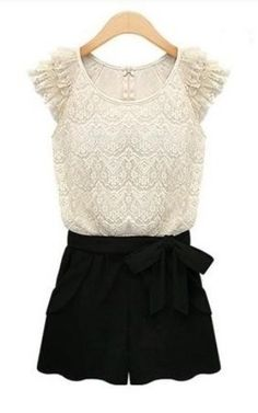 Sweet Lace Romper