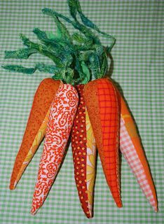 a patchwork world: Tutorial Tuesday: Patchwork Carrot Tutorial