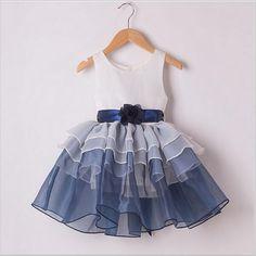 2015 новые дети девочки ну вечеринку платья младенца детей платье принцессы шифон цветочные Summern наряд, принадлежащий категории Платья и относящийся к Детские товары на сайте AliExpress.com   Alibaba Group