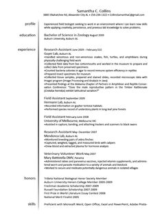 How To Choose The Best Resume Format Resume Format And Resume - Veterinarian resume