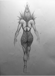 Yogi Tattoo, Tattoo Art, Maori Symbols, Warrior Drawing, Wallpaper Iphone Neon, Maori Designs, Nz Art, Anatomy Sketches, Woman Sketch