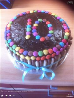 Birthday cake for beautiful ten year old granddaughter