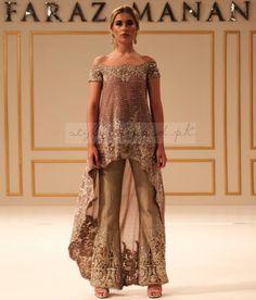 Faraz Mannan Bridal and Coture Collection 2019 Mystic Haze Pakistani Couture, Pakistani Wedding Dresses, Pakistani Outfits, Indian Dresses, Pakistani Clothing, Wedding Hijab, Elegant Outfit, Elegant Dresses, Casual Dresses