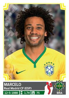 215 Marcelo - Brasil - Copa America Chile 2015 - PANINI
