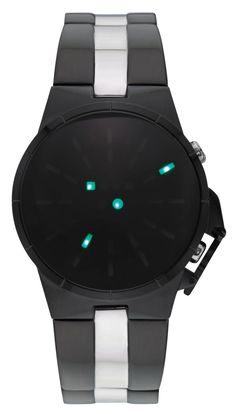 Storm Solar Slate Watch | Free Worldwide Shipping    The Storm Solar is a high tech watch with green LED lights which illuminates at the press of a button to reveal the time in a line formation. The futuristic style Solar is made from high grade brushed stainless steel and also has a date function and signature pusher guard. Water resistant to 50atm