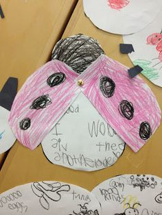 Little Miss Glamour Goes to Kindergarten: bugs