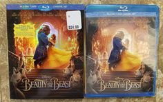 NEW Beauty and the Beast (Blu-ray / DVD Includes Digital Copy) w/ Slipcover