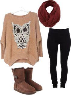 owl sweater