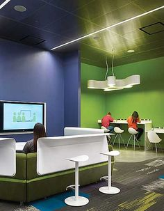 The cutting-edge Teen Place at Schaumburg Township District Library, IL, was…