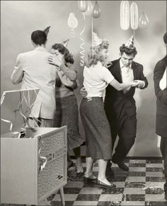 Teen Party 1950s