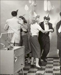 Teen Party 1950s así se divertían tus papas y tus abuelos. Que no digan que no!