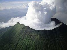 Virunga Volcano - Congo Africa