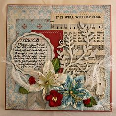 Hymn Challenge #2: It is Well With My Soul by identicaltriplets - Cards and Paper Crafts at Splitcoaststampers