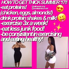 How To Get Thick Summer '17